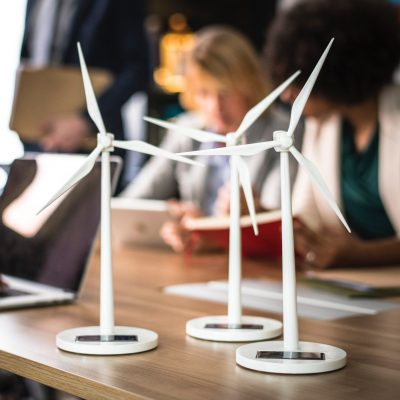 small wind turbines in office