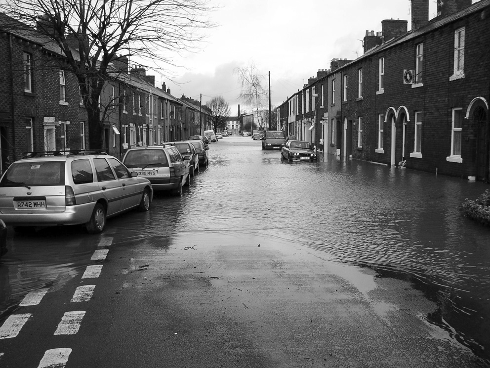 Image of flooded street